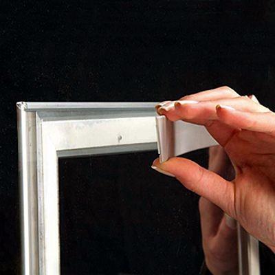 Dubbelsidig Ram Skyltfönster, 25 mm.