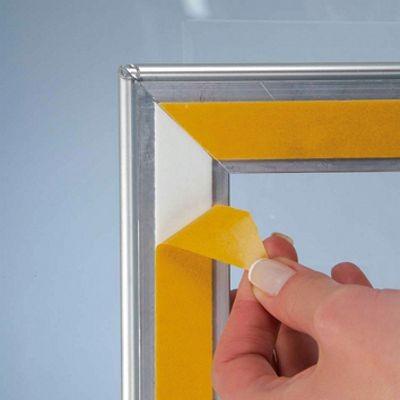Dubbelsidig Ram Skyltfönster, 32 mm.
