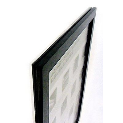 Dubbelsidig Ram Skyltfönster i plast