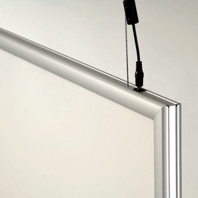 Ljuslåda LED Light Box, 25 mm, dubbelsidig.