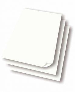 Vitt affischpapper 250 ark