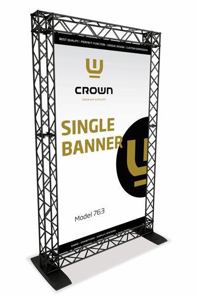CROWN Truss Enkel Banner