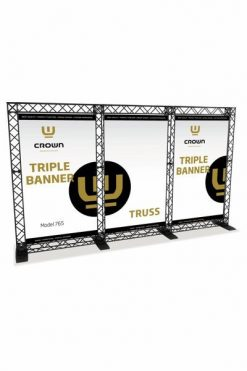 CROWN Truss Trippel Banner