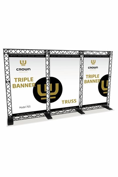 CROWN Truss Trippel Banner