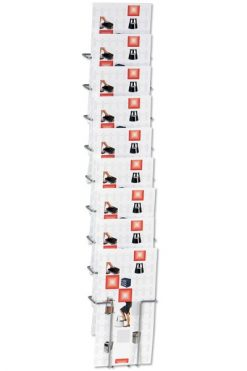 Broschyrhållare Vägg 10