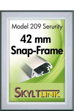Säkerhetsram, vägg, 42 mm profil