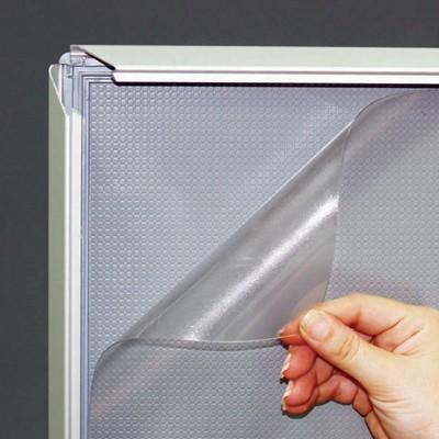 Låsbar snäppram, vägg, 32 mm profil.
