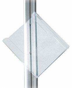 Multiställ Hållare i Akryl A4 Lutad