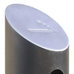 Askkopptub borstad stål