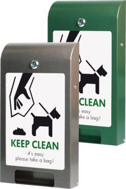 Påshållare för hundtoalett A4 Info