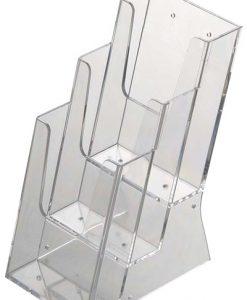 Multihållare broschyrer akryl