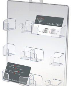 Visitkortshållare x6 För väggmontage